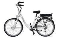 City Bike Elettrica Electri Ellie 26 7V Brushless Bianco