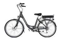 City Bike Elettrica Electri Ellie 26 7V Brushless Grigio