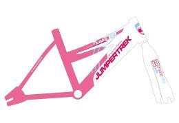 Bici Bambina Cinzia Funky 12 1V Rosa Bianco