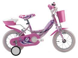 Bici Bambina Cinzia Puppies 12 1V Rosa Perla