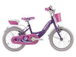 Bici Bambina Cinzia Puppies 16 1V Viola Perla