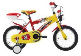 Bici Bambino Cinzia Funky 14 1V  Rosso Giallo