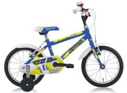 Bici Bambino Legnano Snake 14 1V Blu Verde Fluo