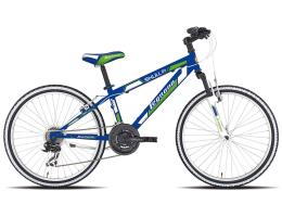 Bici Bambino Legnano Spyder 18 1V Blu Verde (immagine illustrativa)