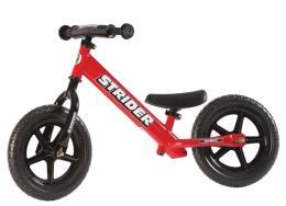 Bici Bambino Strider Bike 12 Sport Rosso