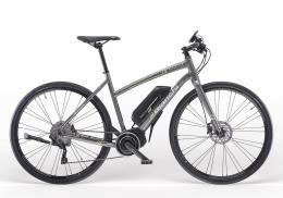 Bici Ibrida Elettrica Bianchi Manhattan XT Mix 10V Grigio