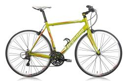 Bici Ibrida Legnano Flat Bar LG36 Sora Mix 18V Bianco Verde Rosso