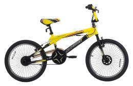 BMX Cinzia Freestyle Jetix Nero Giallo