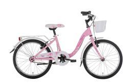 City Bike Bambina Montana Bloomy 20 1V con portapacchi