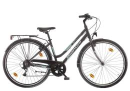 City Bike Bianchi Spillo Turchese DS Donna 6V Nero CK16