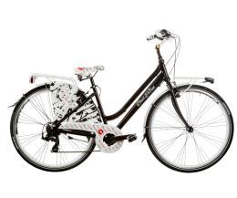 "City Bike Cicli Casadei Baci-Bici 28"" Donna 7V"