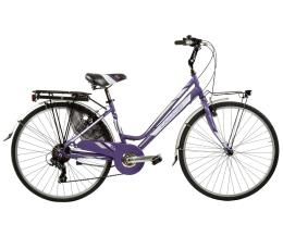 "City Bike Cicli Casadei Dea 26"" Donna 6V"