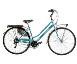 "City Bike Cicli Casadei Moving 28"" Donna 18V"