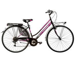 "City Bike Cicli Casadei Moving 28"" Donna 6V"