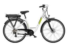 City Bike Elettrica Bianchi Puch E-Going Lady 28 7V Bianco