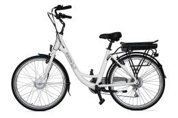 City Bike Elettrica Electri Ellie 26 7V Brushless Bianco