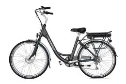 City Bike Elettrica Electri Ellie 26 7V Brushless Grigio