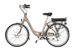 City Bike Elettrica Electri Ellie 26 7V Brushless Sabbia