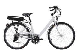 City Bike Elettrica Italwin Easy 26 Unisex 8.8A 36V Bianca