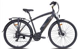 City Bike Elettrica Torpado Eolo 28 TX800 6V 250W Nero