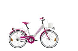 City Bike Lombardo Mariposa 20 1V Bianco Fucsia Lucido