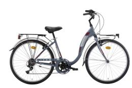 City Bike Montana Liberty 26 Hi-Ten 7V Revo Antracite Metal