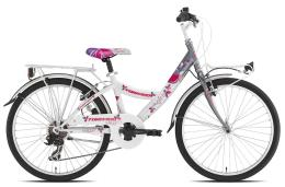 City Bike Torpado Kelly 24 TY300 6V Revo RS35 Grigio Bianco