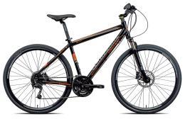 City Bike Trekking Torpado Crossfire Disc Deore 27V Nero