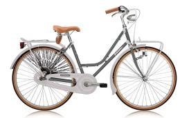 City Bike Vintage Legnano Donna 26 1V Grigio Scuro Bianco