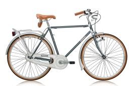 City Bike Vintage Legnano Uomo 28 1V Grigio Scuro Bianco
