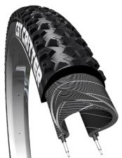 Copertone Mountain Bike CST Critter C1600 26X2.10 - Nero