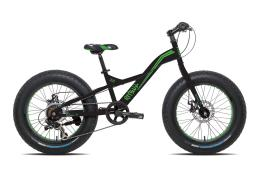 Fat Bike Torpado Pitbull 20 TX35 6V Nero