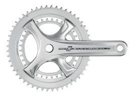 Guarnitura Bici Corsa Campagnolo Centaur Silver 11V - 175 mm
