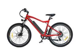 Mountain Bike Elettrica Electri BaldaAttack 26 7V 8Fun Rosso