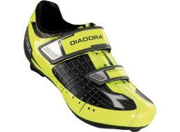 Scarpa Mountain Bike Diadora Phantom Nero Giallo Fluo dd Bianco