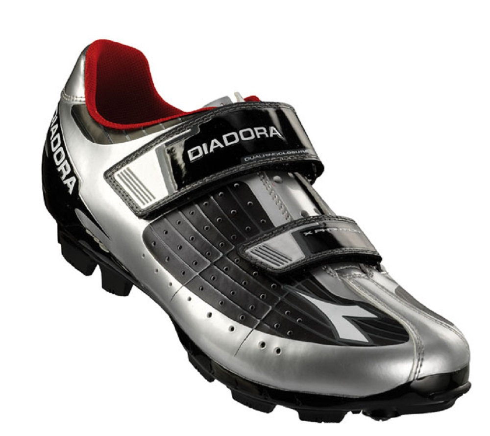 Argento Mountain Diadora Bike Phantom Dd Scarpa Bianco Nero XZqAnf
