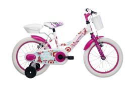 Bici Bambina Cicli Adriatica Girl Kids 16 Bianco