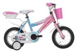 Bici Bambina Cinzia Funky 12 1V Azzurro Rosa