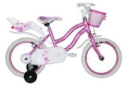 Bici Bambina Coppi Karina 16 Rosa