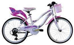 Bici Bambina Coppi Karina 20 6V Bianca