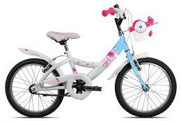 Bici Bambina Torpado Ketty 18 Steel 1V Blu Chiaro