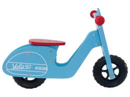 Bici Bambino Bernardi Senza Pedali Legno Vola 50 Azzurra
