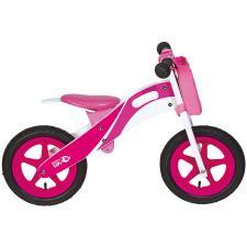 Bici Bambino BRN Legno Racing Rosa
