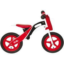 Bici Bambino BRN Legno Racing Rossa