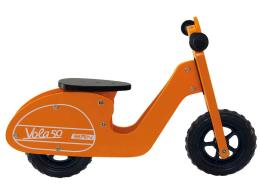 Bici Bambino BRN Legno Vola 50 Arancio