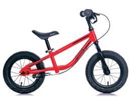 Bici Bambino BRN Senza Pedali Speed Racer 12 Acciaio Rossa