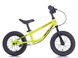 Bici Bambino BRN Speed Racer 12 Acciaio Giallo Fluo