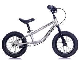 Bici Bambino BRN Speed Racer 12 Acciaio Silver