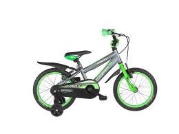 Bici bambino Coppi Argo 12 1V Silver Verde
