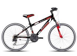 Bici Bambino Legnano Spyder 18 1V Nero Rosso (immagine illustrativa)